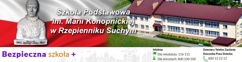 Szkoła Podstawowa im. Marii Konopnickiej w Rzepienniku Suchym